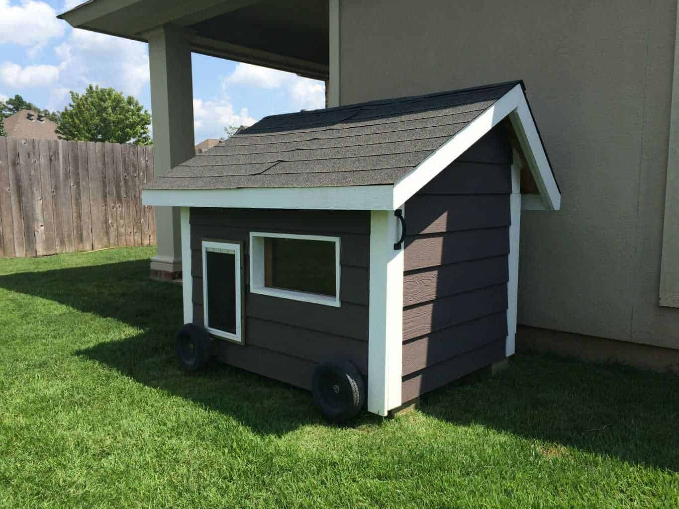 How to build a dog house for How to build an a frame home