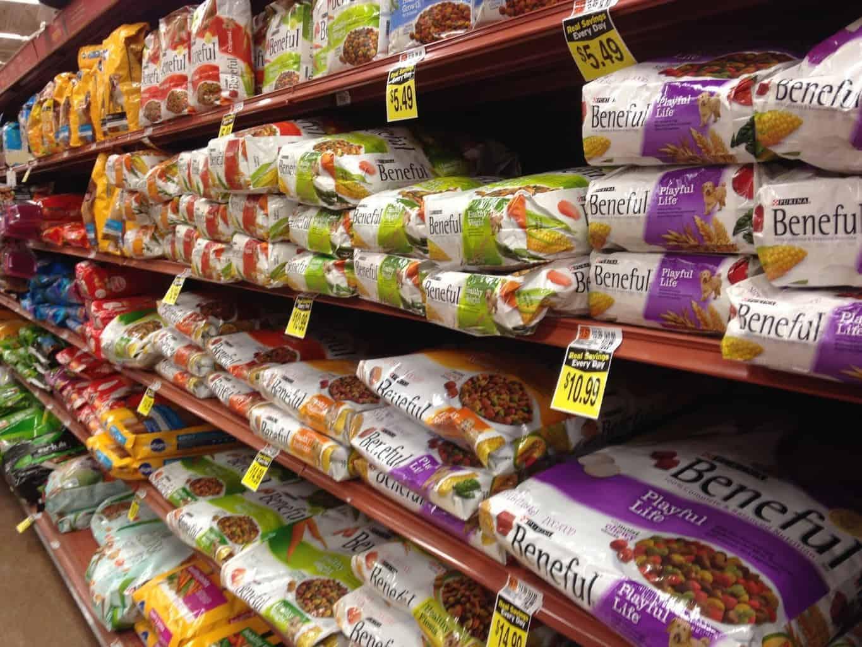 pet food shopping