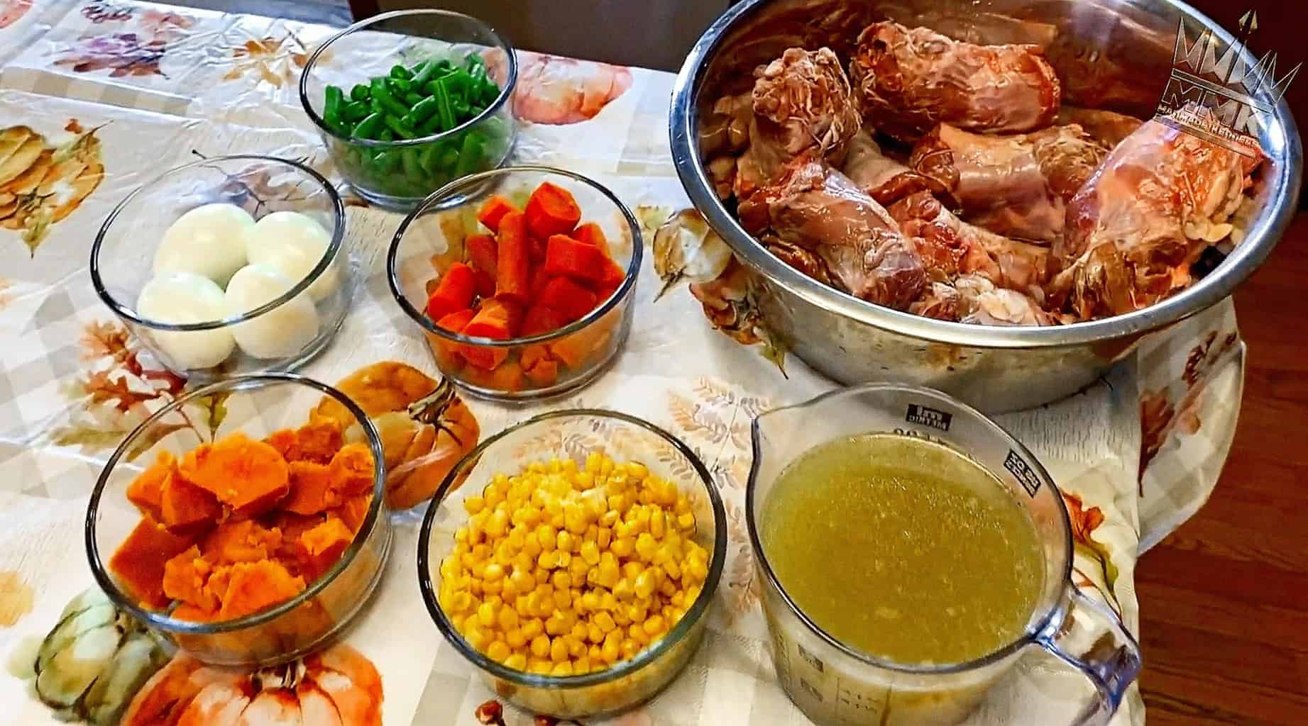 thanksgiving foods dogs can eat